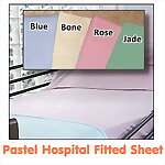 Pastel Fitted Hospital Sheet, 36 x 80