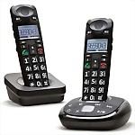 Clearsounds® A700 Cordless Phone w/ Answering Machine and Expansion Handset COMBO