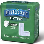 FitRight® Extra Adult Briefs