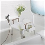Designer Shower Chair with Handles