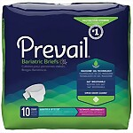 "Prevail® Bariatric BB 3X Ultimate Absorbency Briefs (Fits 74""-100"")"