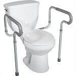 Padded Arm Toilet Safety Frame