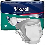 Prevail® Extended Use Briefs, Overnight Absorbency