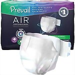 Prevail® Air™ Stretchable Adult Briefs, Maximum Plus Absorbency
