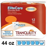 Tranquility® EliteCare® Disposable Briefs, 44 oz. Ultimate Absorbency