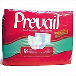 *CLR Prevail® Fitted Briefs, Large, 18/bag