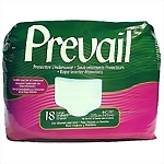 Prevail® Protective Underwear (CLR), Large, 18/Bag