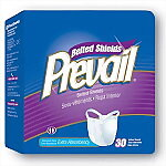 Prevail® Extra Absorbency Belted Undergarments (Shields) - 30/Bag