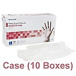 Vinyl Powder-Free Exam Gloves (Case) - Large