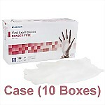 Vinyl Powder-Free Exam Gloves (Case) - X-Large